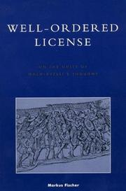 Cover of: Well-ordered license