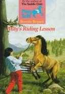 Cover of: May's Riding Lesson | Bonnie Bryant