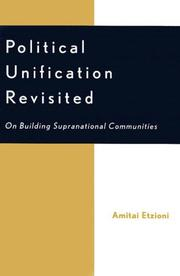 Cover of: Political Unification Revisited
