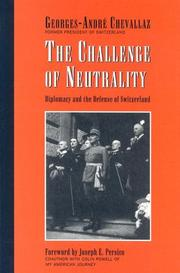 Cover of: The Challenge of Neutrality