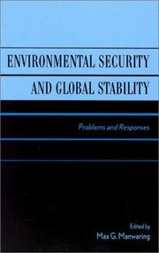Cover of: Environmental Security and Global Stability