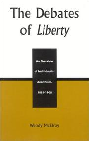 Cover of: The debates of Liberty
