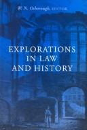 Cover of: Explorations in Law and History