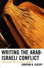 Cover of: Writing the Arab-Israeli Conflict