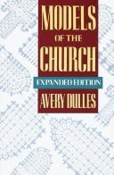 Cover of: Models of the church