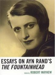 Cover of: Essays on Ayn Rand's The Fountainhead