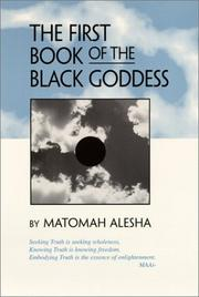 Cover of: The First Book of the Black Goddess