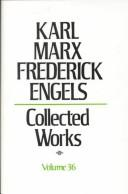 Cover of: Collected Works: Karl Marx : Capital, Vol. 36 (Karl Marx, Frederick Engels: Collected Works)