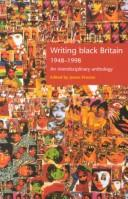 Cover of: Writing Black Britain 1948-1998