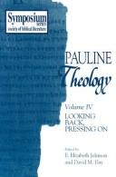 Cover of: Pauline Theology