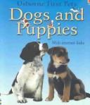 Cover of: Dogs and Puppies With Internet Links (First Pets) | Katherine Starke