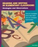 Cover of: Reading and Writing in Elementary Classrooms