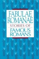 Cover of: Fabulae Romanae by D. Perry