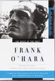 Cover of: Voice of the Poet: Frank O'Hara (Voice of the Poet)