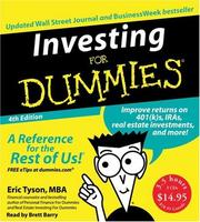 Cover of: Investing For Dummies CD 4th Edition