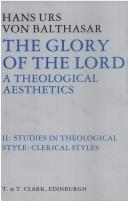 Cover of: Glory of the Lord Vol 2