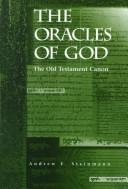 Cover of: The Oracles of God