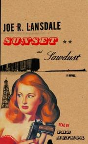 Cover of: Sunset and Sawdust (Lansdale, Joe R.)