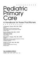 Cover of: Pediatric Primary Care | Nancy Barber