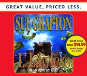 Cover of: L is for Lawless (Sue Grafton)