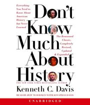 Cover of: Don't Know Much About History