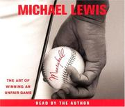 Cover of: Moneyball | Michael Lewis