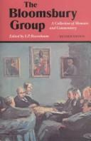 Cover of: Bloomsbury Group