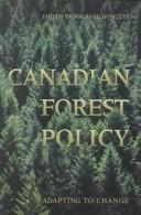 Cover of: Canadian Forest Policy