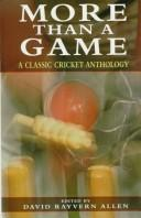 Cover of: More than a game