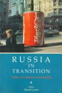 Cover of: Russia in Transition | Lane, David