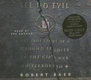 Cover of: See No Evil | Robert Baer