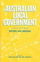 Cover of: Australian Local Government |