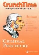 Cover of: Criminal Procedure