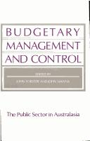 Cover of: Budgetary Management and Control