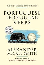 Cover of: Portuguese irregular verbs
