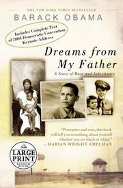 Cover of: Dreams from My Father