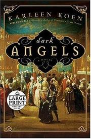 Cover of: Dark Angels | Karleen Koen
