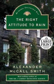 Cover of: The Right Attitude to Rain