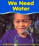Cover of: We Need Water