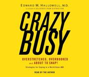 Cover of: Crazybusy | Edward Dr Hallowell