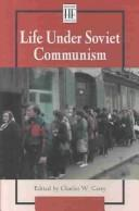 Cover of: History Firsthand - Life Under Soviet Communism