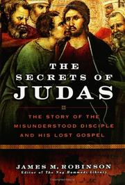 Cover of: The Secrets of Judas | James M. Robinson