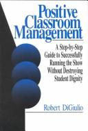 Cover of: Positive classroom management