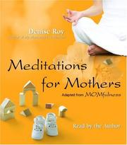 Cover of: Meditations for Mothers