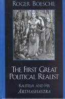 Cover of: The First Great Political Realist | Roger Boesche