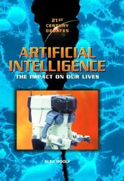 Cover of: Artificial intelligence | Alex Woolf