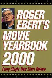 Cover of: Roger Ebert's Movie Yearbook 2000 (Roger Eberts Movie Yearbook, 2000)