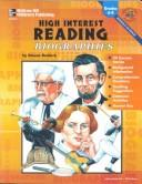 Cover of: High Interest Reading Biographies: Grades 6-8