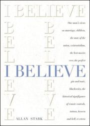 Cover of: I Believe