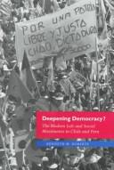 Cover of: Deepening democracy? | Kenneth M. Roberts